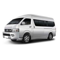 판매를 위한 새로운 마이크로 버스 중국 15-16 시트 Toyota 가솔린 엔진 기술 마이크로 버스 조절기