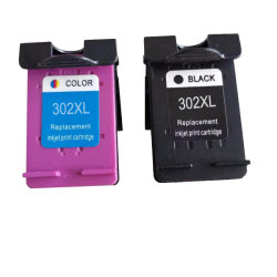 302XL (F6u66ae F6u67ae) jato de tinta do cartucho de tinta para impressora HP Deskjet 1110 3630 / Officejet 3830 4650