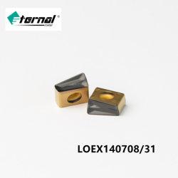 Alta velocidad de avance de carburo de acero de alta velocidad y la cara lateral de la Fresa la hoja de sierra para metales Acero duro