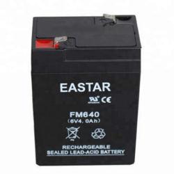 Venta caliente estándar General Storage 6V4ah selló una batería de plomo-Cid