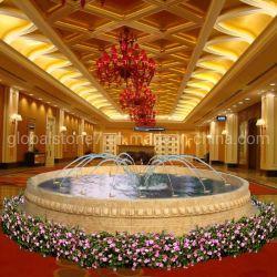 Стороны резной мраморной сад фонтан для украшения (GSF-257)
