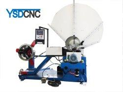 換気の螺線形の管の前の作成機械のための機械を形作る電流を通されたシートHVACの送風管の製造業の螺線形の円形の管