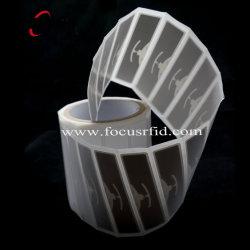 Papier-RFID Kennsatz Impinj/Ausländer 9654 H47 UHFfür Inhalt und Anlagegut-Gleichlauf-System
