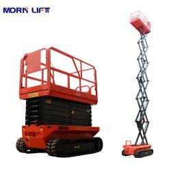 12m plataforma elétrica móvel hidráulico de elevação do homem de tesoura para venda