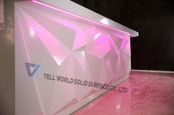 Conduit de l'acrylique Surface solide Cafe bar Comptoirs commerciaux Hôtel mobilier