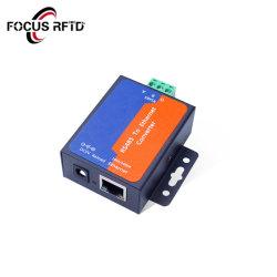 1 porta RS485 para conversores de Ethernet suportam TCP Cliente/Servidor, Servidor/Cliente UDP, Virtual COM