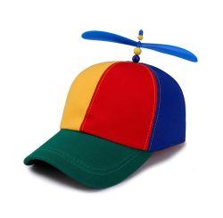 Hélice en hélicoptère pour adultes des casquettes de baseball cap patchwork coloré Hat Dragonfly enfants Garçons Filles Snapback Hat