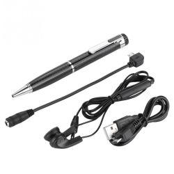 Bolígrafo grabador de voz digital de audio reproductor de MP3 la reducción de ruido