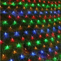 2.5* 2m fée de mariage de lumière LED Guirlande de Noël de Rideau de lumière LED Chaîne de Nouvel An de plein air Birthday Party décoration de jardin