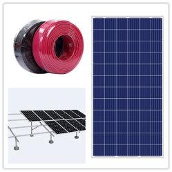 Sistema solar 50kw híbrido Industrial Sistema de energía solar con fines comerciales.
