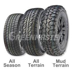 Real de alta qualidade durante toda a temporada de pneus de veículos de passageiros, Auto-estrada Awd Terrain H/T 4X4 todo-o-terreno em pneus SUV, 4WD Offroad Terreno Lama Mt Cross Country Caminhonete Pneu