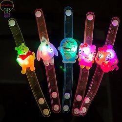Luminosa LED Watch Pulsera encienden niños Decoración de Navidad