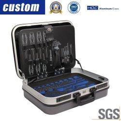 Instrumento de plástico ou alumínio Caixa de ferramentas do equipamento