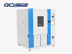Medio ambiente de laboratorio de ensayos climáticos y prueba de cámara con el controlador de temperatura y humedad