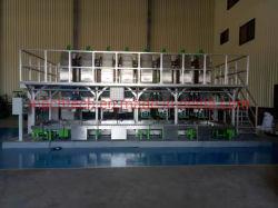Plastikhochgeschwindigkeitsmischer-automatisches Puder, das System wiegt