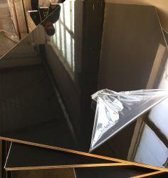 18 mm de alto brillo UV/placa de MDF melamina brillante de aglomerado de partículas de rayos UV/placa de contrachapado de melamina //MDF laminado/UV para muebles de madera contrachapada laminada