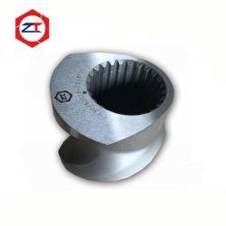 65mm de doble tornillo barril extrusora de piezas de repuesto y el cilindro