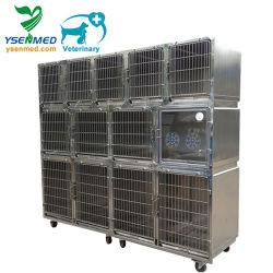 Ysvet0510 الشركة المصنعة الكلب العصر الحيوانات الأليفة الأرانب الفولاذ المقاوم للصدأ قفص