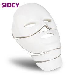 La máscara de LED para la cara cuello Micro-Current Anti Wrinkle Eliminación del acné Rejuvenecimiento de la piel de la máquina de belleza facial eléctrico