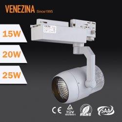 3 回路 25W LED COB トラックライトクリー LED 、 5 年間保証
