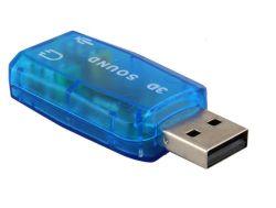 Fehlerfreie Karte USB-3D mit Kanal 5.1 Heiß-Verkaufen