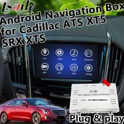 Plug&Play Android 6.0 Système de navigation GPS pour ATS XT5 2014-2018 Cadillac SRX Xts avec WiFi Google Map Yandex etc.
