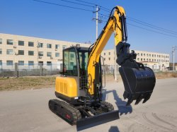 China Fabrik Lieferant Mini Bagger Garten Traktor 1ton 2 Ton 3ton 6ton mit CE