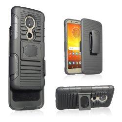 2018 이중 층 Kickstand 벨트 클립 권총휴대 주머니 Motorola G6 실행을%s 결합 특허 자동차 또는 셀룰라 전화 상자