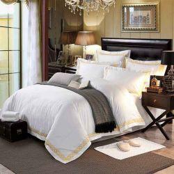 Van het Katoenen van de Stijl van de luxe de Witte Egyptische Reeks van het Beddegoed van het Hotel Linnen van het Bed (JRD991)