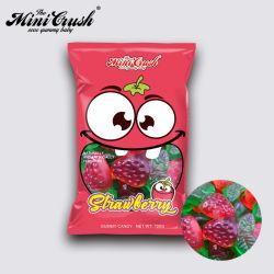 Geléia de OEM fábrica de doces de frutas Snack Gomoso