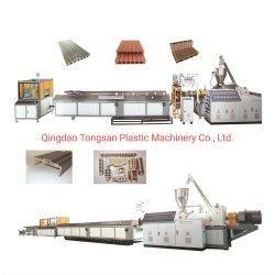 ملفات تعريف آلة/خشب بلاستيكي مهدر PP PE WPC Composite Profiles Extruder Sjms65/132 / WPC Production Line Manufacturer
