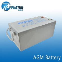 高品質12V250ahのPustun AGMの長い生命深サイクルSLA Mf VRLA電池