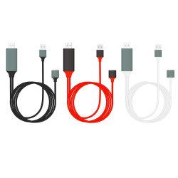 Adattatore universale di Digitahi avoirdupois al cavo di HDMI/HDMI per iPhone/iPad/Samsung Smartphones