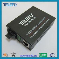 Convertidor de medios de fibra para cámaras de vídeo