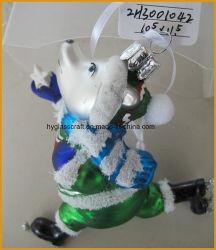Бутик-Dog стекла для рождественские украшения