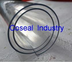 Het transparante Blad Natuurlijke van pvc (polyvinyl chloride)