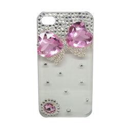 Novo produto de luxo elegante Crystal caso para iPhone 4S