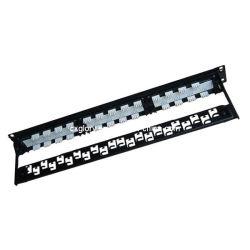 25 ポートカテゴリ 3 RJ11 電話パッチパネル
