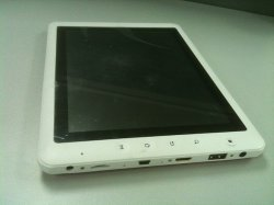 Tela de toque capacitivo de 8 polegadas de PC tablet Android