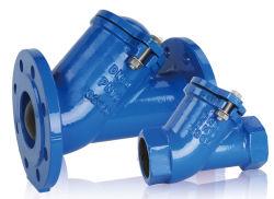 Epoxidbeschichtung-flanschte duktiles Roheisen Gleitbetriebs-Kugel-Rückschlagventil