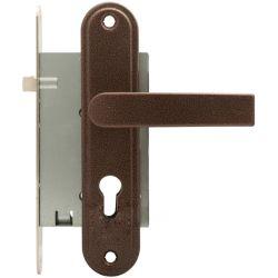 5050 Conjuntos de fechadura de porta com um graminho bloqueia a pó de plástico dos Cilindros