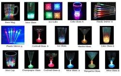Bar / Flash LED piscando chávenas