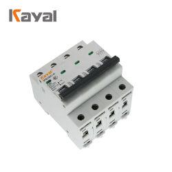 C45 4 Pole MCB 63 Ampere-Minisicherung