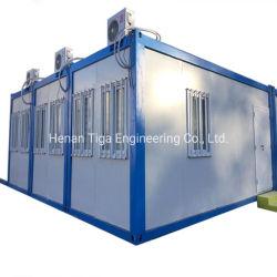 هيكل فولاذي التجميع السريع لكوخ الحاويات المصنعة مسبقًا