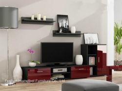 TV coloridos armario con cajones de alto brillo (HHTV02)