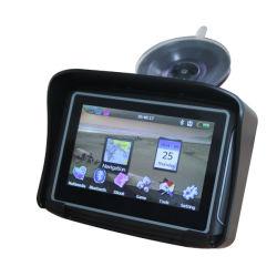 4,3-дюймовый портативный Bluetooth функцией автокалибровки установление прочного GPS навигации мотоциклов