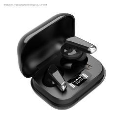 J70 TWS auricular Bluetooth pantalla digital 5,0 auricular biaural con anulación de ruido Toque auriculares deportivos inalámbricos con micrófono