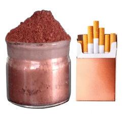 Metálicos de cobre de Revestimiento en polvo de oro en polvo de pigmento de huecograbado y embalaje de cigarrillos