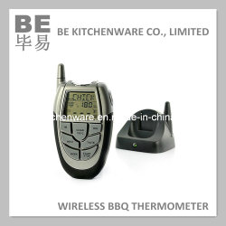 Termómetro Digital churrascos sem fio Electric Termómetro carne churrascos termómetro de cozedura temporizador (SER-5007)