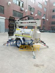 L'Australie Heavy Duty silencieux standard 5kw Groupe électrogène Tour d'éclairage